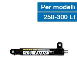 Cilindro idraulico per sistema di sicurezza secure system Butti 777P0300