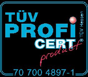 Butti TUV Hessen Profi Cert Product