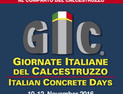 GIORNATE ITALIANE CALCESTRUZZO
