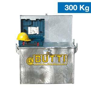 Porta attrezzi zincato Butti 350Z