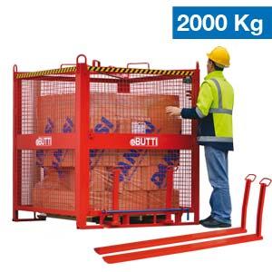 Safety Basket sollevamento e movimentazione Laterizi Butti