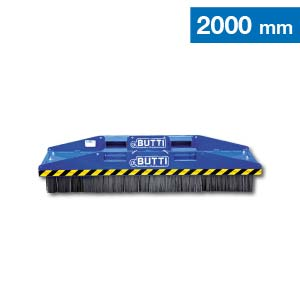 Scopa industrial compact con spazzole in acciaio Butti 863C20