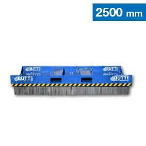 Scopa industrial large con spazzole in acciaio Butti 865C25