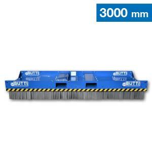 Scopa industrial extra large con spazzole in acciaio Butti 865C30