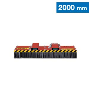 Scopa universal compact con spazzole in acciaio Butti 863UC20
