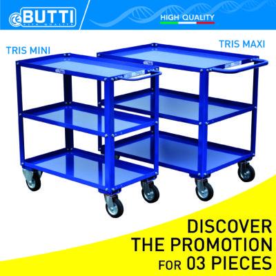 Tris Modular Cart Butti Promotion