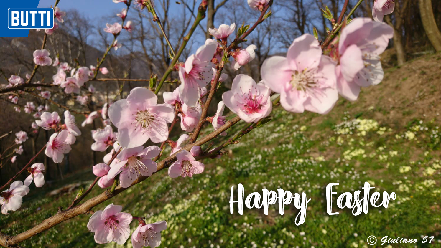 Butti wishes you all a very Happy Easter!
