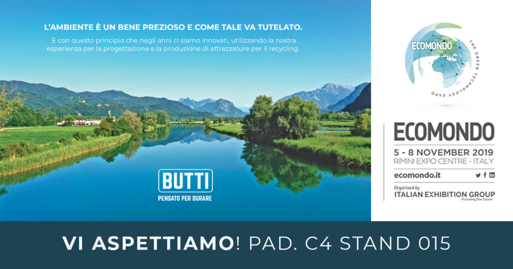 Ecomondo Butti 2019