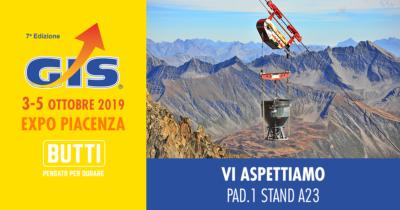 GIS Butti Giornate Italiane Sollevamento Edilizia Piacenza 2019
