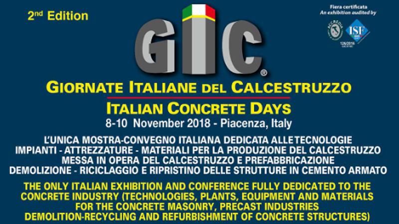 Giornate Italiane del Calcestruzzo – Piacenza