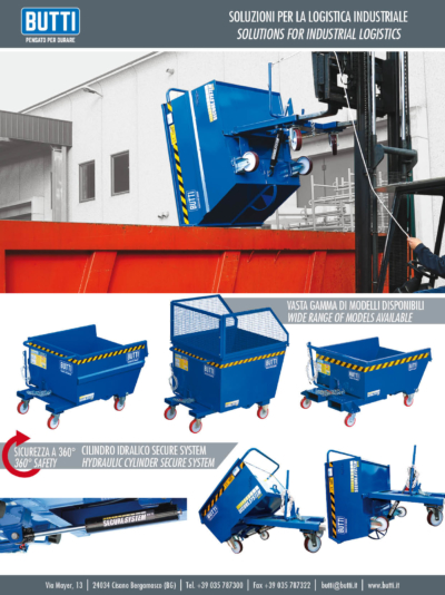 Contenitori ribaltabili Pertutto - Tipping container Pertutto