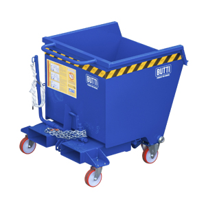748RS - Tipping containers pertutto specificfor transpallet electric lifter steered 280 litri