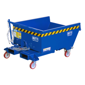 750RS - Tipping containers pertutto specificfor transpallet electric lifter steered 300 lt