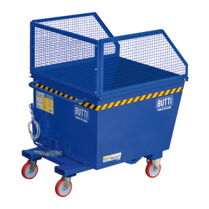 """77B2200R - Tipping containers """"pertutto"""" specific for big volumes- Paper and plastic 2200 lt"""