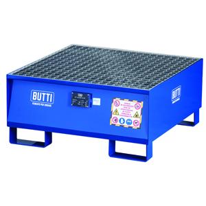 821E vasca di contenimento vasca di raccolta vasca a tenuta stagna vasche a tenuta vasca stoccaggio fusti grigliato Butti
