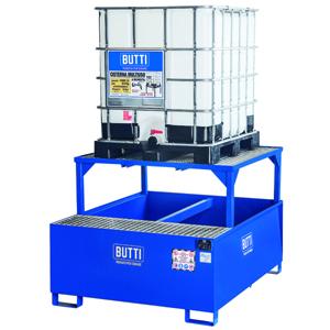 826CTQ vasca di contenimento vasca di raccolta vasca a tenuta stagna vasca stoccaggio fusti grigliato Butti