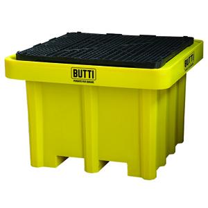 826STQP vasca di contenimento vasca di raccolta vasca a tenuta stagna vasca stoccaggio fusti grigliato Butti