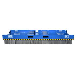 865C30 - Scopa IndustrialLarge con spazzole in acciaio 3000 mm scope rottamai industria piazzali Butti