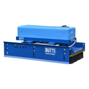 Kit DRS sistema riduzione polvere scopa industriale scope rottamai industria piazzali Butti