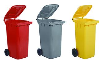 Trolleys voor recycling