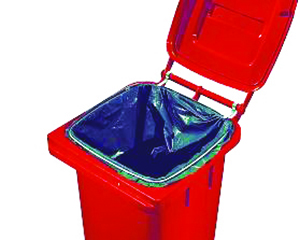 Ring bag stop bins trolley for recycling waste bin recycling junk waste Butti