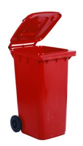 Bidoni carrellati per la raccolta differenziata pattumiera recycling scarti spazzatura Butti