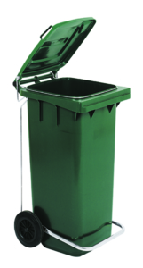 Complete set bag stop ring + pedal Trolley bins for recycling waste bin recycling waste junk waste Butti