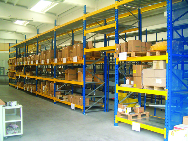 Industrial shelving, industrial shelving, heavy series, plant, organization, products, goods, shelves, Butti