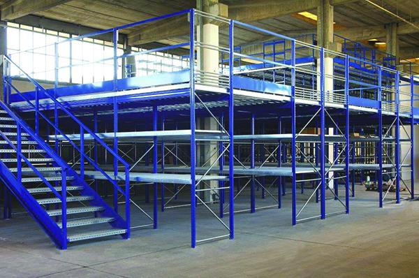 Mezzanine Mezzanine shelving Industrial shelving, industrial shelving, plant, organization, products, goods, shelves, Butti