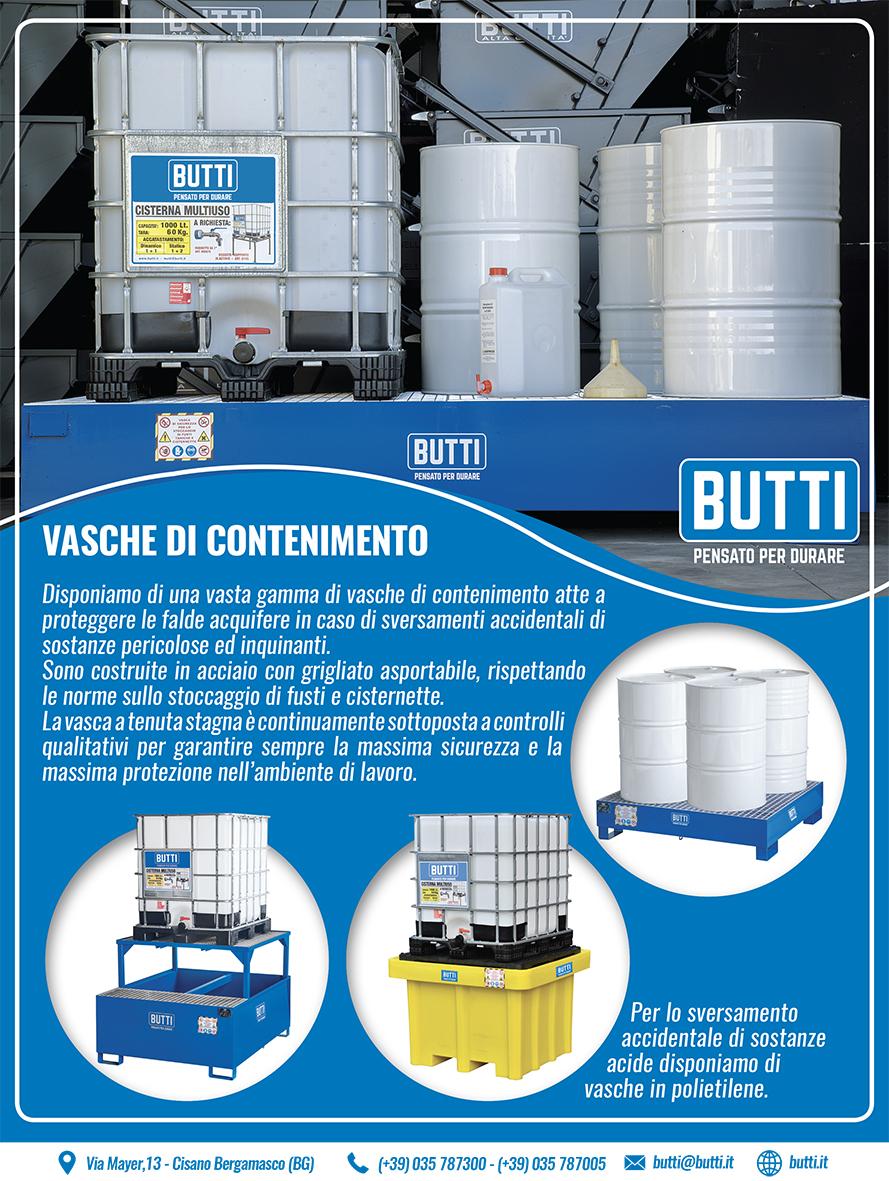Vasche di contenimento Butti