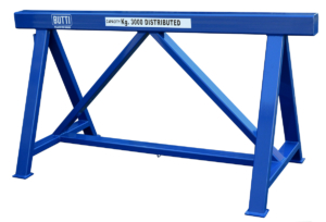 "Series ONE - ""Big Works"" easels stand steel wood Butti"
