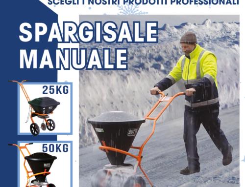 In caso di neve scegli i nostri prodotti professionali