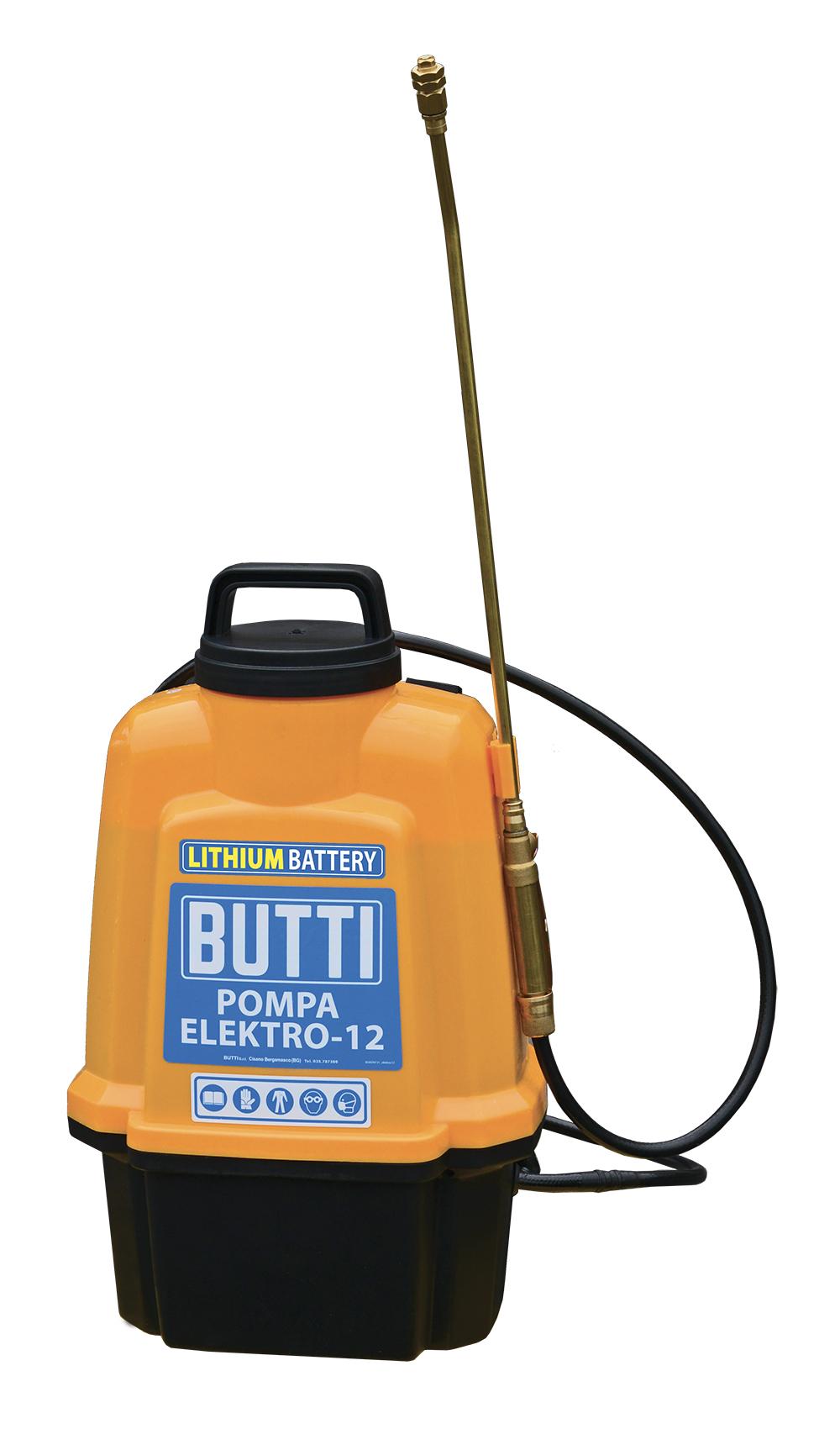 Professionele accupomp Elektro-12 Butti