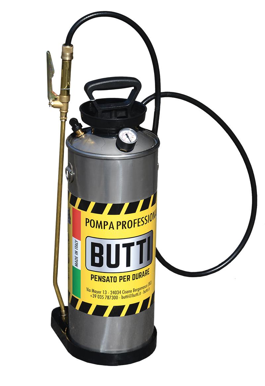 Professionele pomp in roestvrij staal Butti Butti