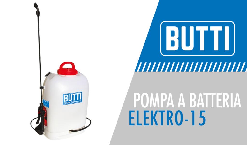 Pompa a batteria elektro-15 Butti