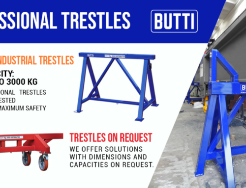 Professional industrial trestles
