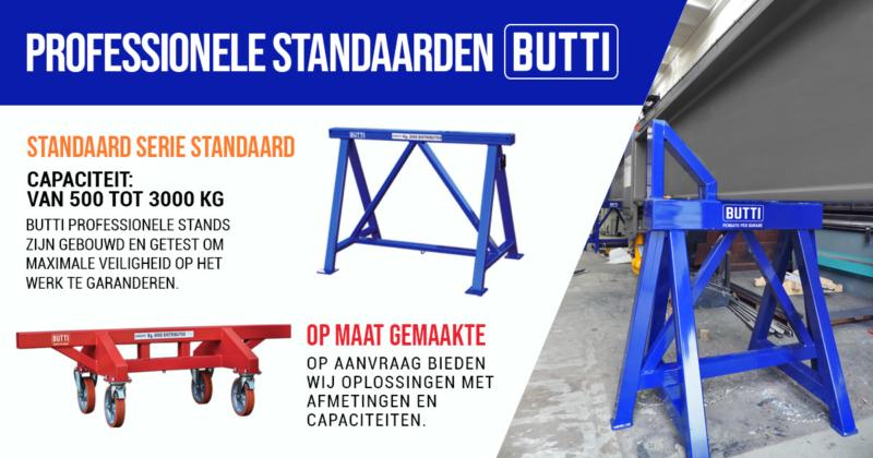 Gecertificeerde professionele industriële ezels Butti