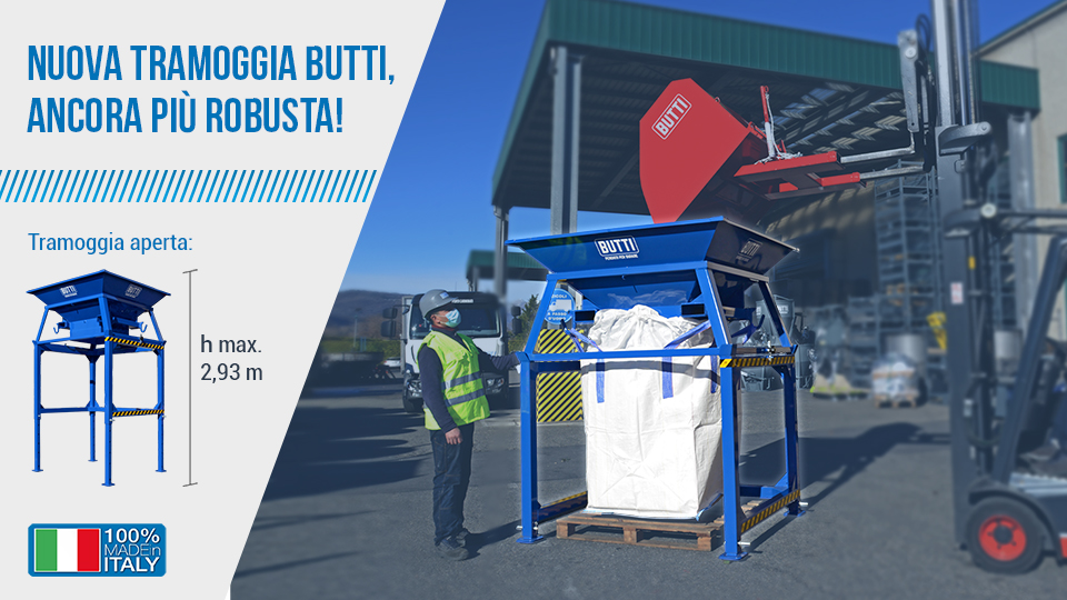 Tramoggia per Big Bag Butti