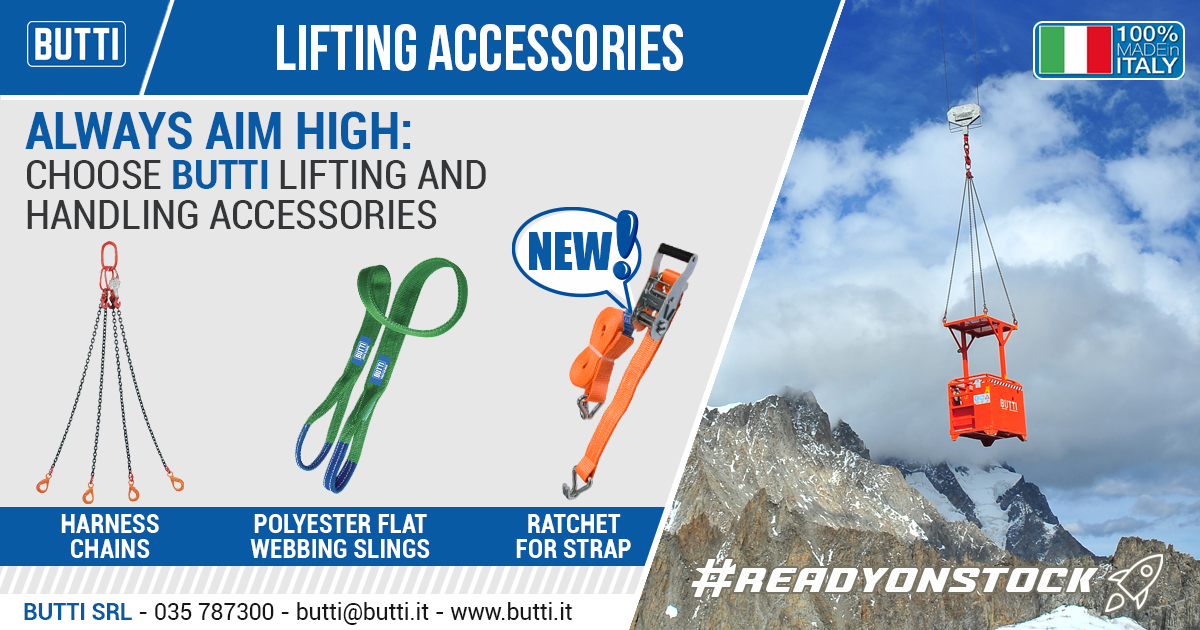 Butti lifting accessories