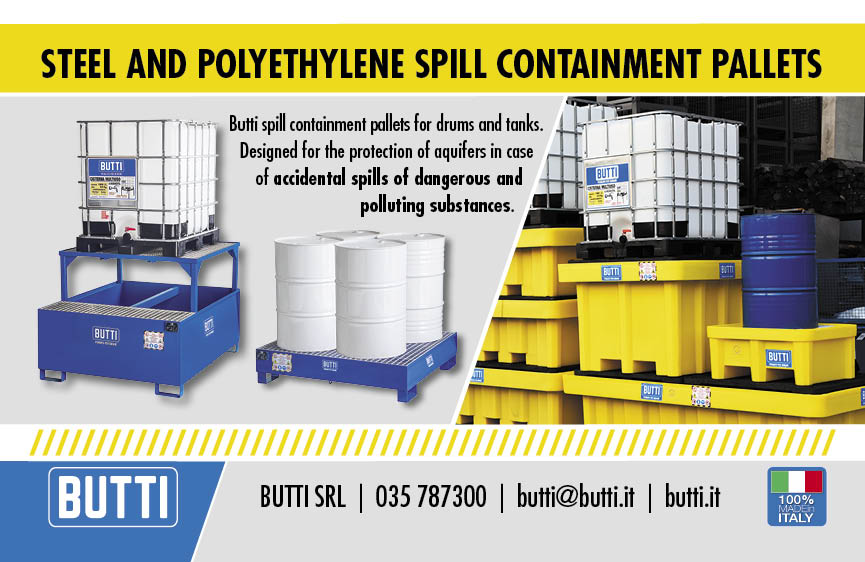 Spill containment pallets Butti