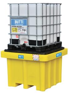Polyethyleen tank voor zure stoffen voor een stortbak 826STQP Butti