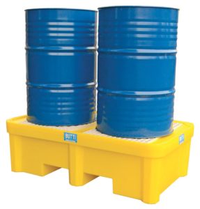 Polyethyleen tank voor zure stoffen voor 1, 2 of 4 vaten 8070V1FP 83PL0305 824EP Butti