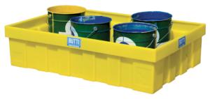 Polyethyleen bak voor zure stoffen voor kleine containers 83PL0045 83PL0280 Butti