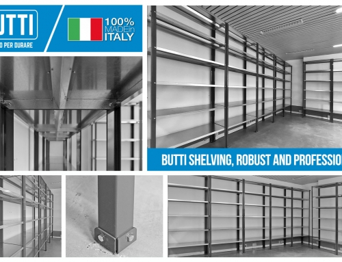 Robust and professional shelving