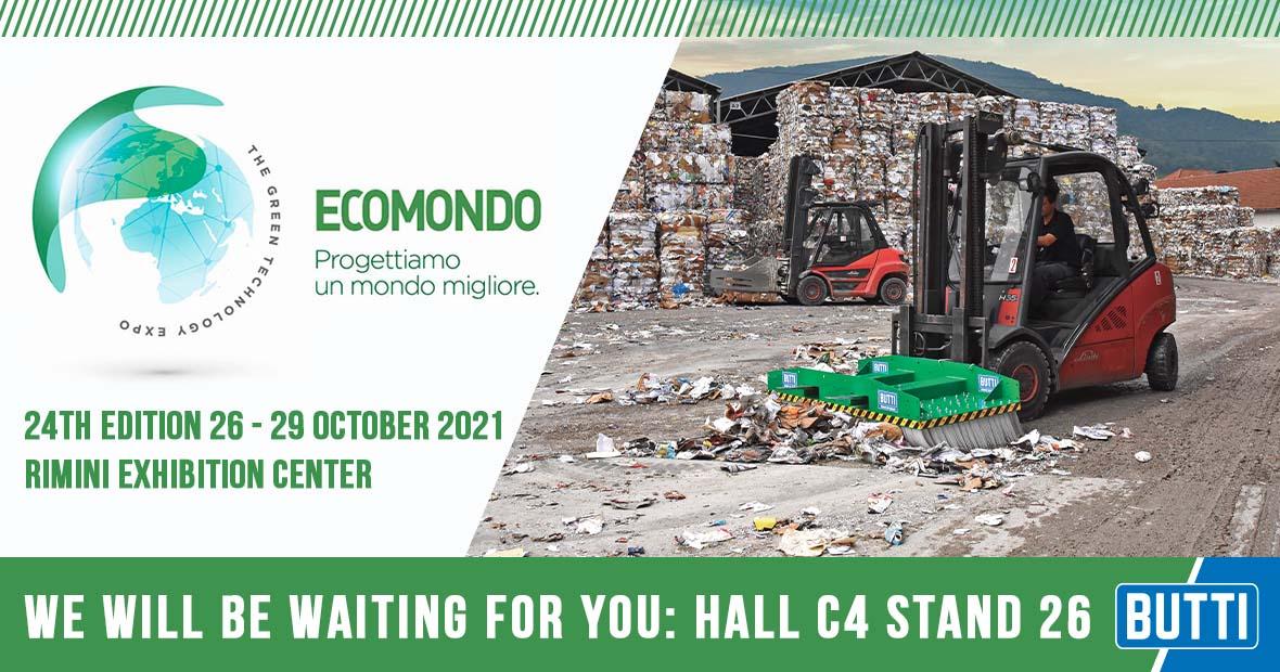 Invitation Ecomondo 2021 - Butti